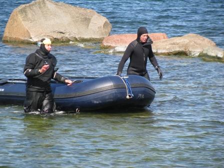 Sukeldumast naasmine